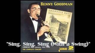 Sing Sing Sing Carnegie Hall 1938