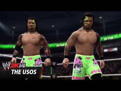 Wwe 2k14 Community Showcase: The Usos (xbox 360) video