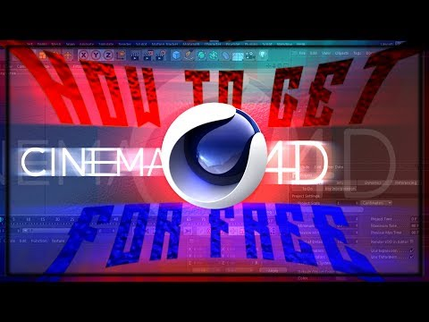 How to get Cinema 4D For Free | Full Tutorial | Fully edited