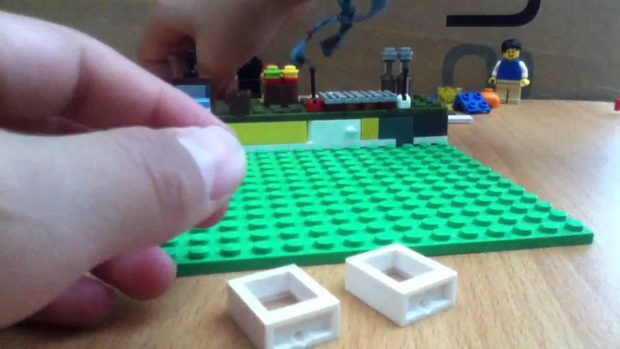 Como Hacer Una Cocina Lego Youtube