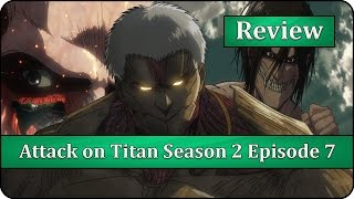Soldier vs. Warrior - Attack on Titan (Shingeki no Kyojin) Season 2 Episode 7 Anime Review