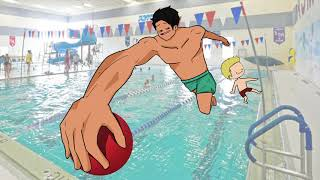 Destroying Kids in my Swimming Class