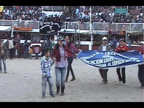 FIESTAS PATRIAS LLATA, 2013. CORRIDA DE TOROS. Llata, Huamalíes, Huánuco, Perú.