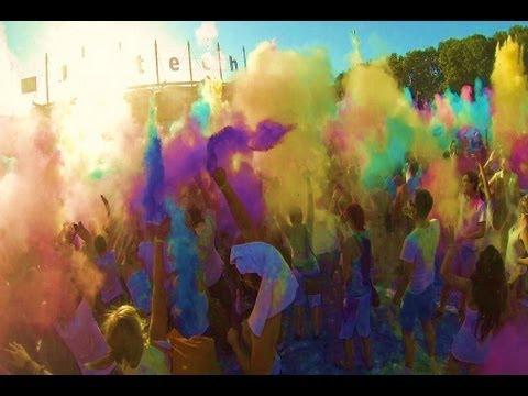 Best of Holi Festival of Colors Hamburg 2013 (HD1080p)