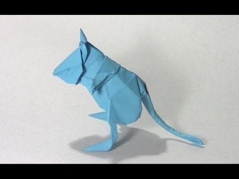 #52 Origami Gerboise by Lionel Albertino ( part 1of 2 ) – Yakomoga Origami tutorial