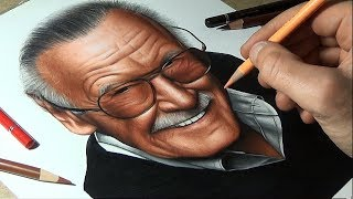 R.I.P. Stan Lee - Speed Drawing