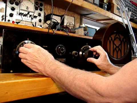 Oriole Radio Model 7B (1925) Restoration PT2