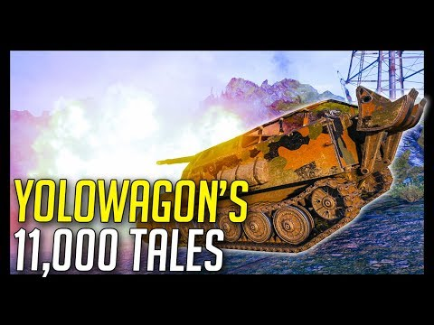 ► YOLOWAGON's 11,000 Tales... - World of Tanks Gameplay