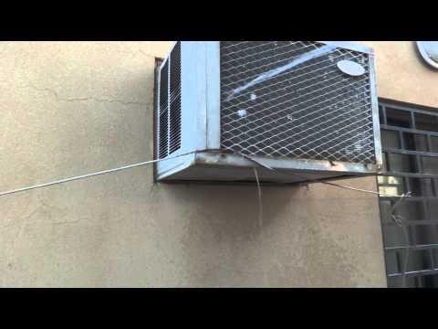 Room air conditioner common defect repair. DIY easy fix.