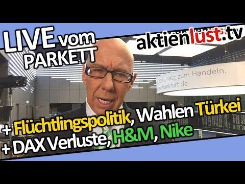 DAX unter Druck | Deutsche Bank, H&M, Nike | AKASOL IPO | Mick Knauff