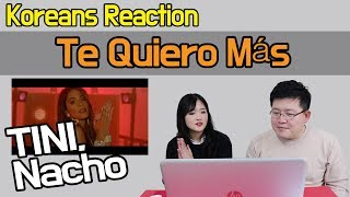 Download Lagu TINI, Nacho - Te Quiero Más Reaction [Koreans React] / Hoontamin Gratis STAFABAND