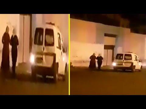 صطافيط ديال البوليس تابعة جوج ميمات كيتلوطو عليهم..مابقا ما يعجب فهاد البلاد!! #1