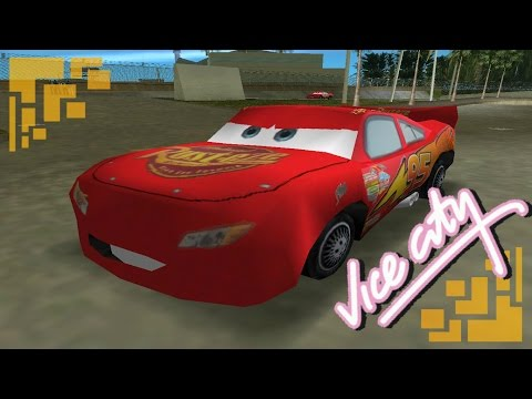 Lightning McQueen GTA VICE CITY Cars movie [DOWNLOAD LINK]