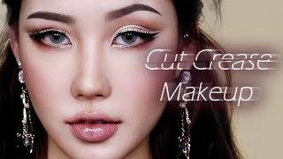 [Eng/Thai] Cut Crease Makeup Tutorial 컷 크리즈 메이크업 l 이사배(Risabae Makeup) Korean Beauty Creator