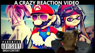Jeff Henderson Reacts To SMG4: Mario and The Diss Track ( A CRAZY REACTION VIDEO )