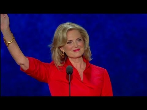 Raw Video: Ann Romney's speech at the RNC