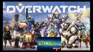 OVERWATCH - BUSCANDO A VITÓRIA - BORA 300 SUBS #ATNGAMER #Live #Overwatch