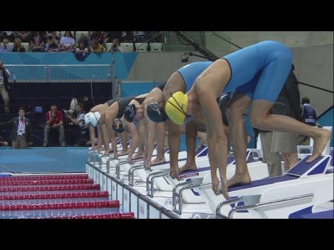 Ranomi Kromowidjojo Wins Women's 50m Freestyle Gold - London 2012 Olympics