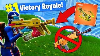 The CROSSBOW ONLY CHALLENGE In Fortnite Battle Royale!