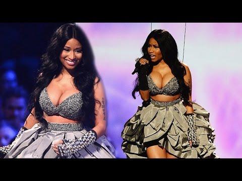 Nicki Minaj Very Revealing & Swears During MTV EMA's 2014
