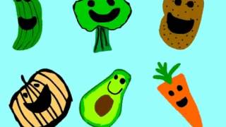 Aprendiendo los Vegetales -Vegetable Song For Kids