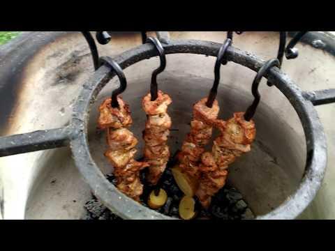 Шашлык в тандыре из свиной шеи  Лучший рецепт 2017 года