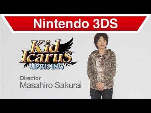 Nintendo 3DS - Sakurai Presents Kid Icarus: Uprising