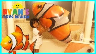 GIANT Remote Control Air Swimmers Flying Clownfish toy