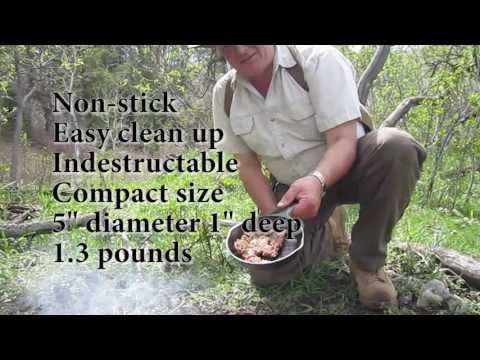 Lodge Mini Skillet - Nice even for backpacking
