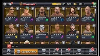 WWE Mayhem Unlocked All Superstars without uninstall game A To Z  Steps    Must Watch 13.18 MB