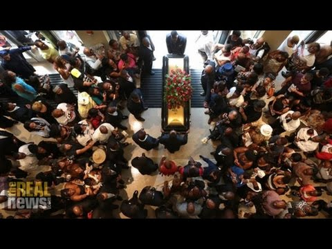 Michael Brown's Funeral Buried in Media Circus