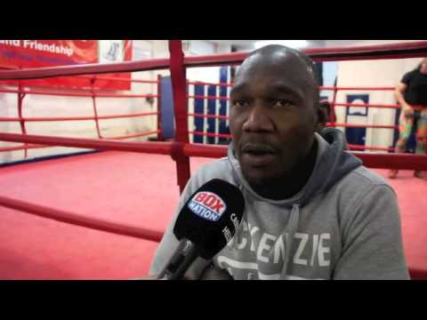 'IF I CAN'T BEAT  MATTY ASKIN, THERE'S NO POINT IN ME GOING FOR A WORLD TITLE' - OVIL McKENZIE