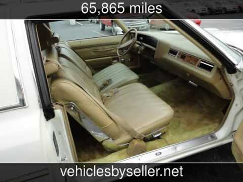 1975 Chevrolet Caprice  Used Cars - Omaha,Nebraska - 2016-10-01