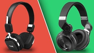 BEST CHEAP WIRELESS HEADPHONES ? Bluedio T2 vs Boat Rockerz 600 Full Comparison and Review | India