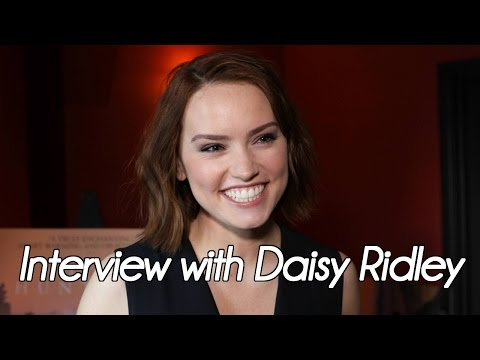 Interview with Daisy Ridley about 'The Eagle Huntress' (2016) streaming vf