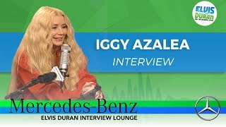 Download Lagu Iggy Azalea on New Album 'Surviving The Summer' | Elvis Duran Show Gratis STAFABAND