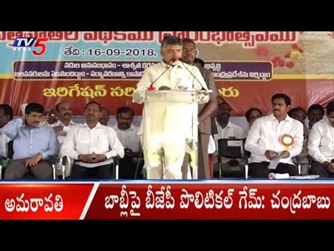 BJP Playing Political Game Over Babli : AP CM Chandrababu Naidu | TV5 News