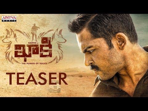 Khakee (The Power Of Police) Official Teaser || Khakee Telugu Movie || Karthi, RakulPreet || Ghibran thumbnail