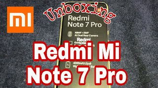 #Xiaomi 📱 Redmi note 7 pro unboxing 👌| MI #AndroidPhone ✅