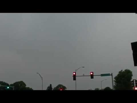 Couple of local lightning strikes - HD 60fps