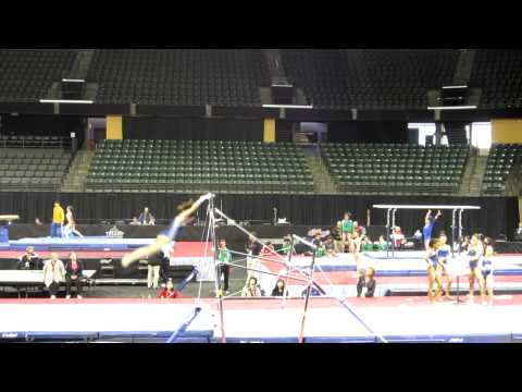 Lexie Priessman - 2012 Kellogg's Pacific Rim Championships Podium Training - Uneven Bars