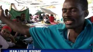 Haiti Survivors Seek Solace In Faith