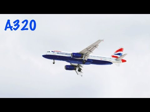 FSX British Airbus A320 Landing @ Luxembourg ( Outside ) RWY 06 ( HD )