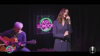 "Dua Lipa Performs ""IDGAF"" Acoustic at ASH LONDON LIVE"