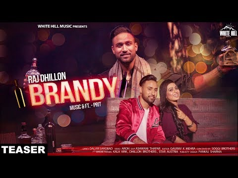 Brandy (Teaser) Raj Dhillon | Releasing on 24th May | White Hill Music