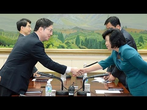 Koreas just days away from renewed high-level talks