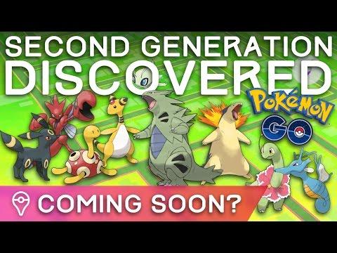 SECOND GENERATION POKÉMON DISCOVERED IN POKÉMON GO GAME CODE!