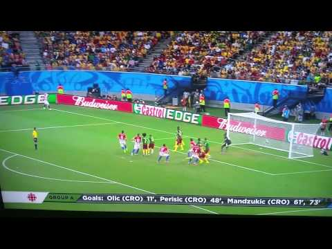 Croatia vs Cameroon (4-0) fifa world cup 2014