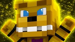 """FNAF World Five Nights in Anime - """"BECOMING FREDBEAR"""" (Minecraft Roleplay) Night 25"""