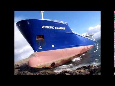 Lysblink Seaways runs aground